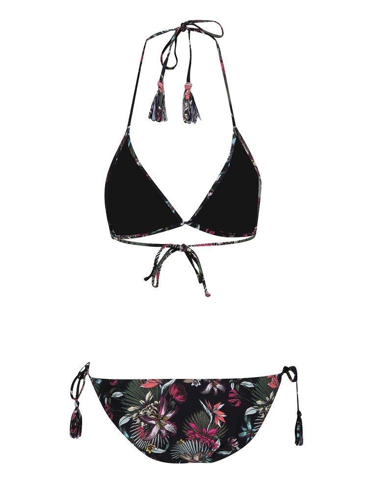 Costum de baie negru O'Neill cu imprimeu floral