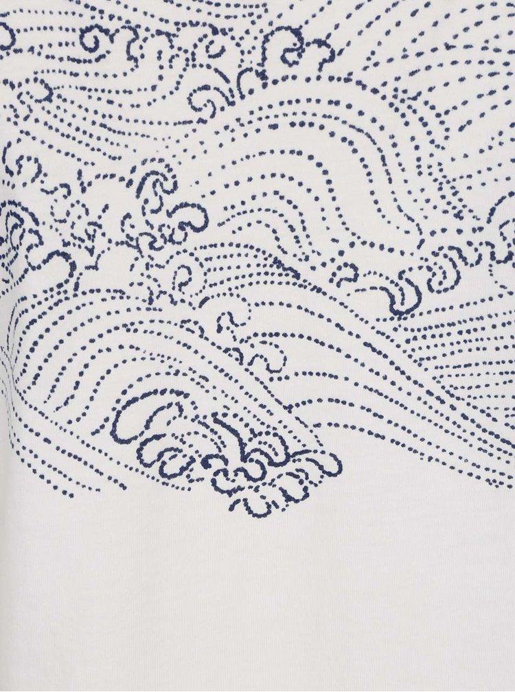 Bluza alba  O'Neill  cu imprimeu