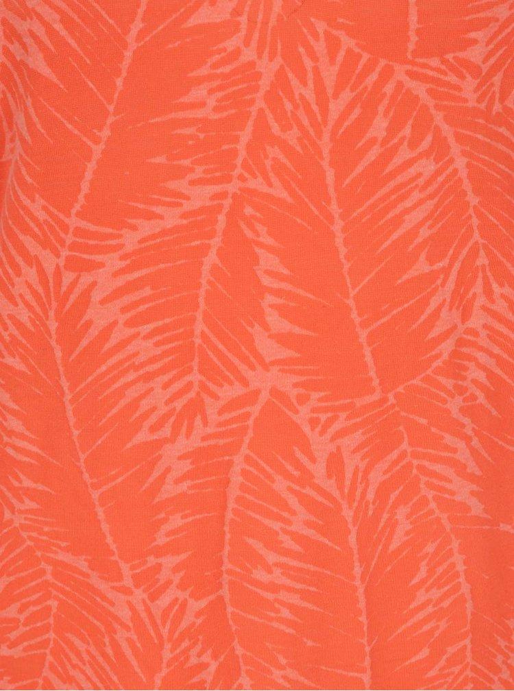 Top portocaliu cu imprimeu O'Neill