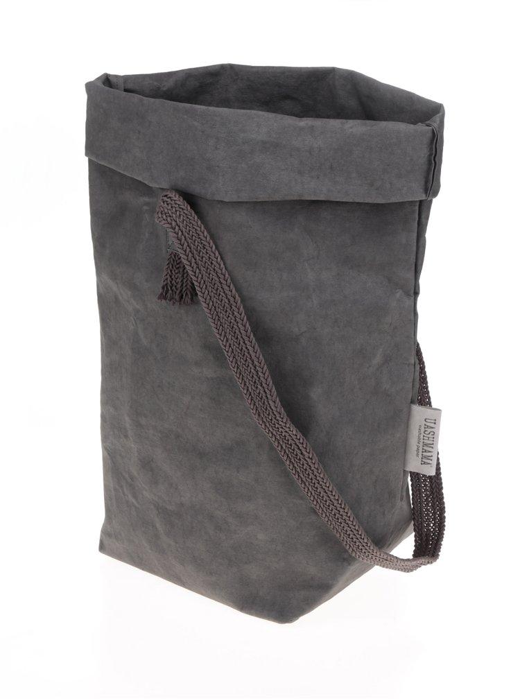 Geantă gri închis UASHMAMA® Carry One