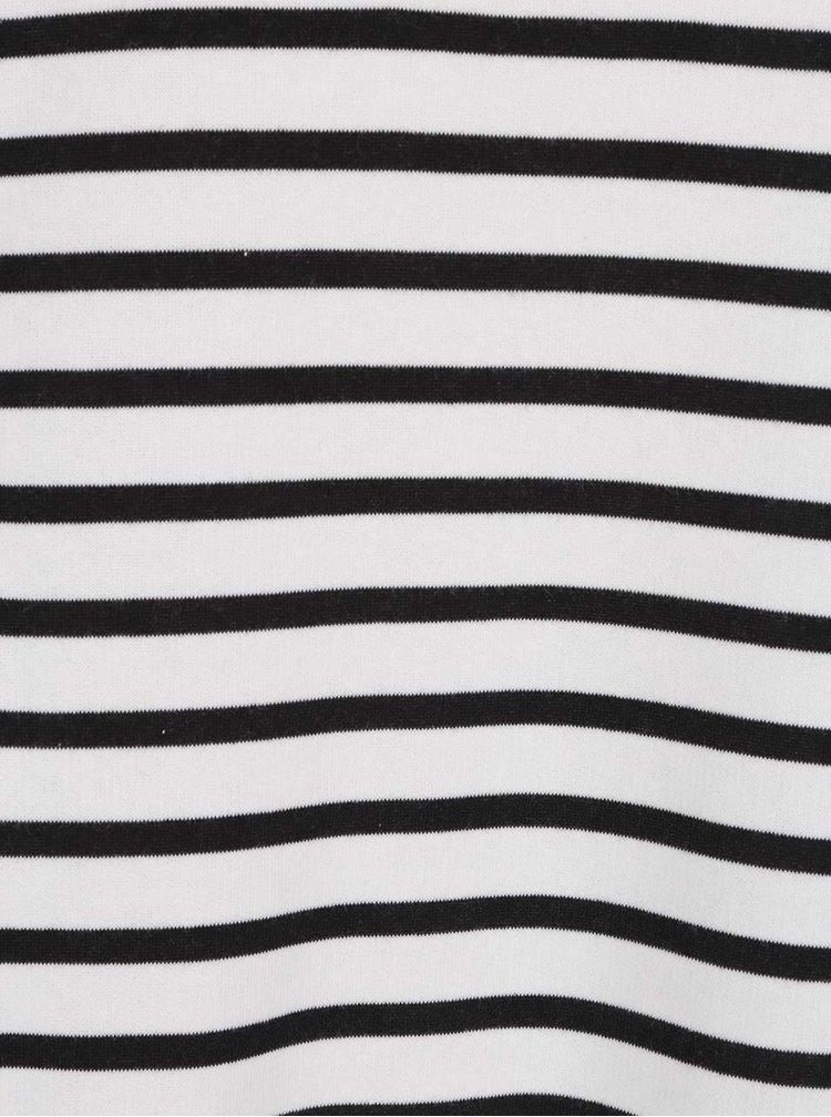 Černo-bílá dámská pruhovaná mikina O'Neill