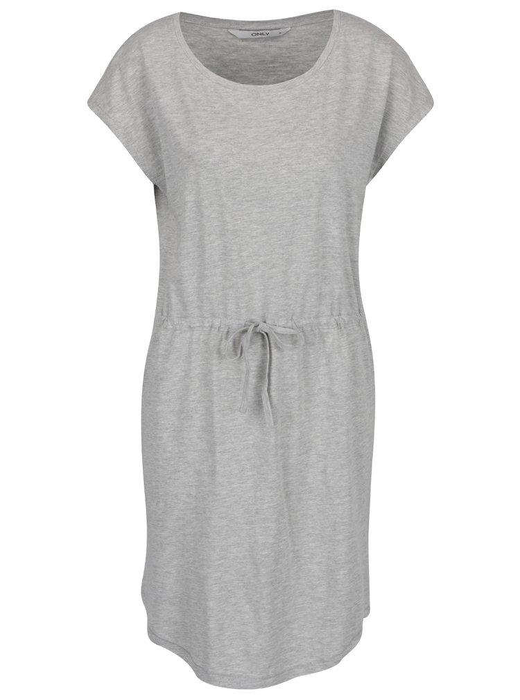 Svetlosivé šaty ONLY May