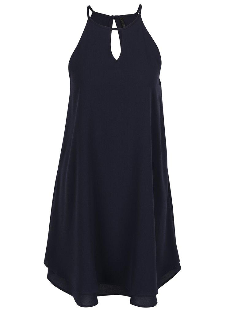 Tmavě modré šaty na ramínka ONLY Mariana