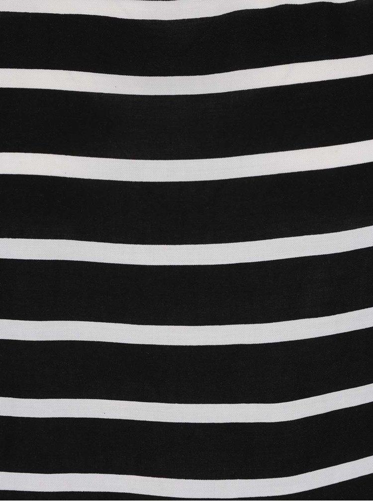 Bílo-černá pruhovaná halenka ONLY First