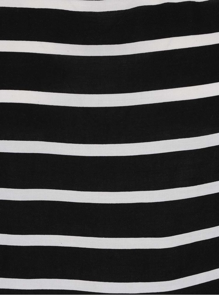 Bluza negru&alb in dungi ONLY First