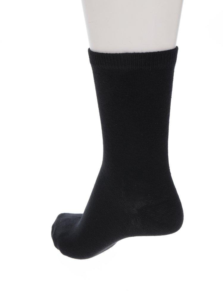 Sada pěti párů ponožek v černé barvě ONLY Lova