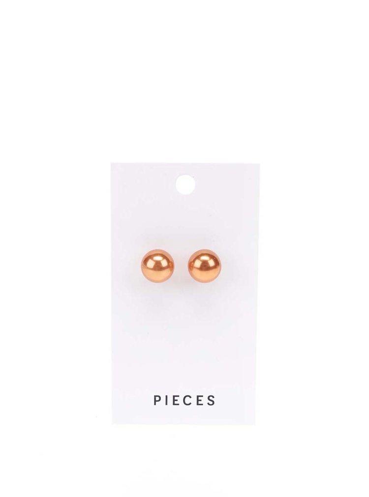 Cercei portocalii Pieces Hogan