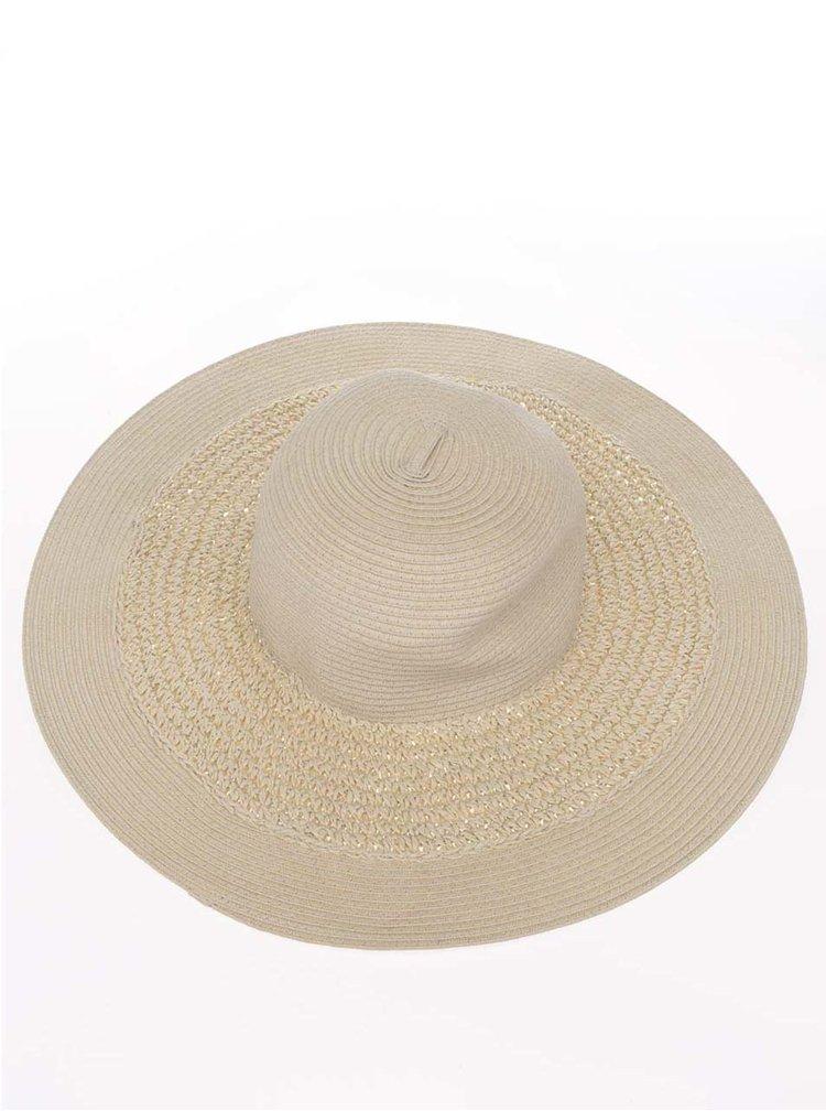 Krémový klobouk Pieces Kisa