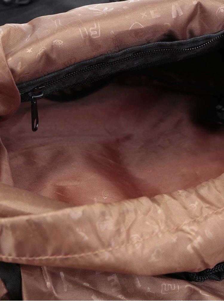 Černý unisex batoh Meatfly Pioneer 26 l