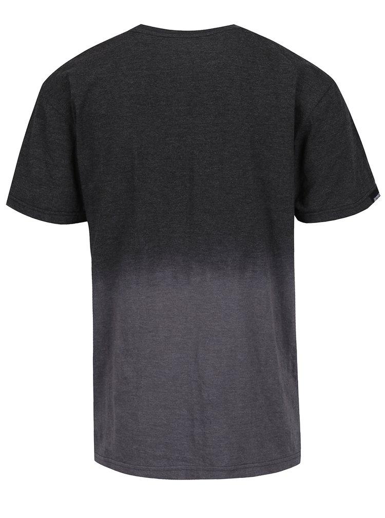 Tmavě šedé pánské tričko MEATFLY Spill