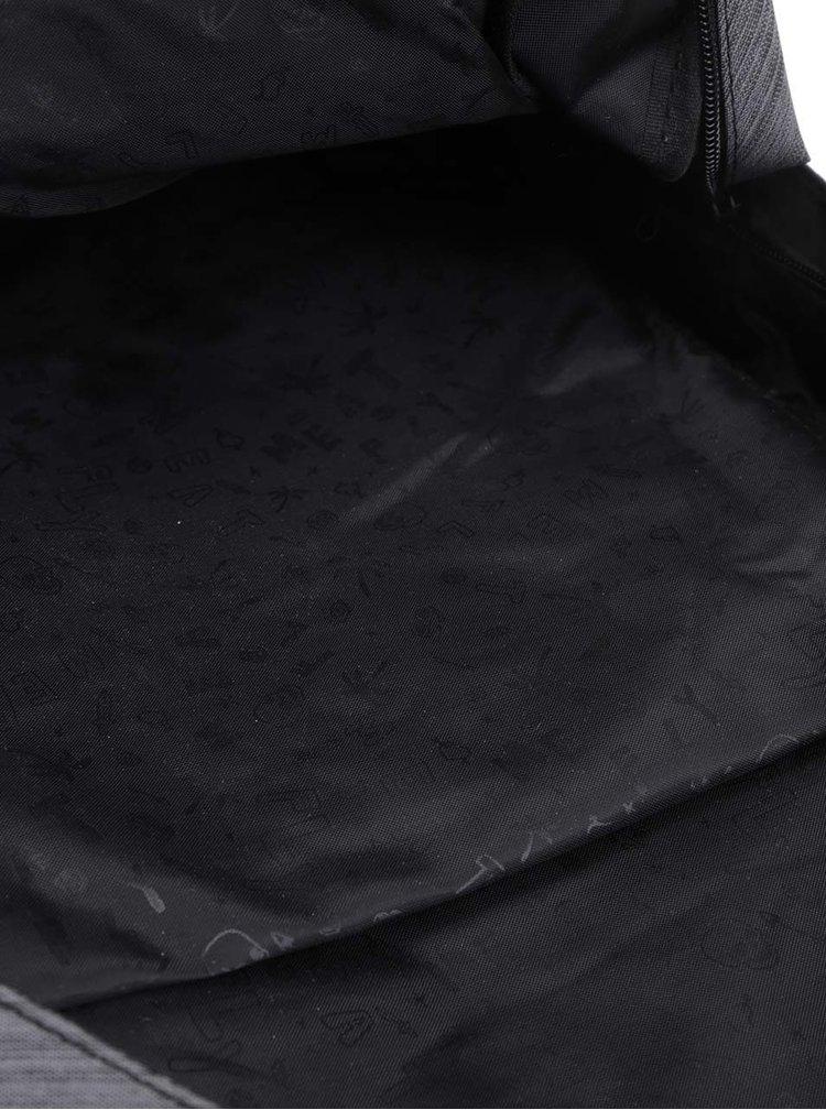 Rucsac negru & gri unisex MEATFLY Exile 22 l