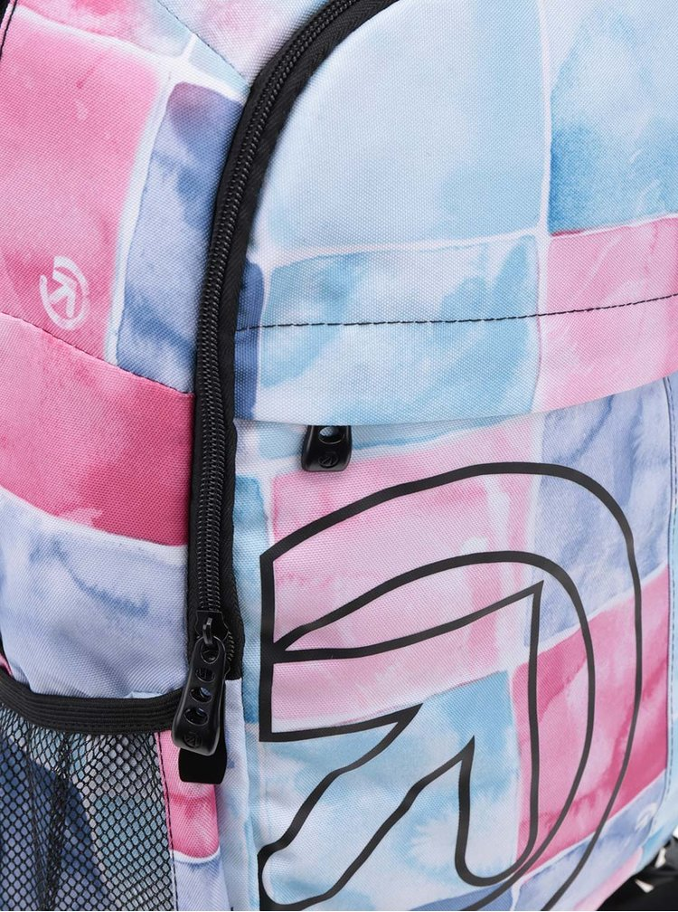 Rucsac alb & roz MEATFLY Basejumper 20 l cu model