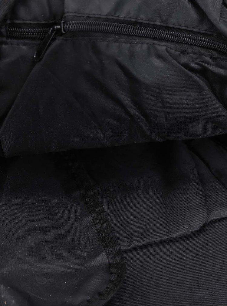 Šedý žíhaný batoh MEATFLY Basejumper 20 l