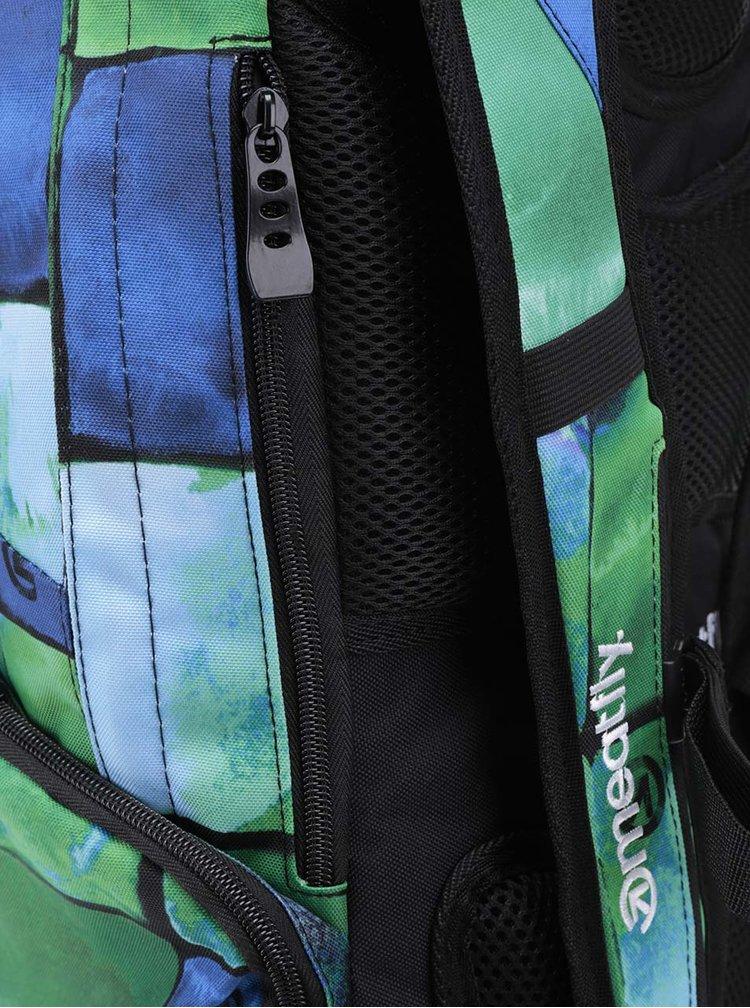 Rucsac verde unisex MEATFLY Basejumper 20 l cu model