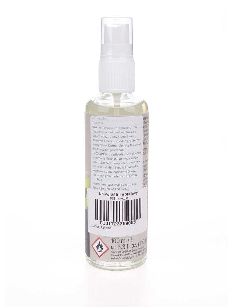 Univerzální sprejový deodorant na obuv s vůní limetky pedag 100 ml