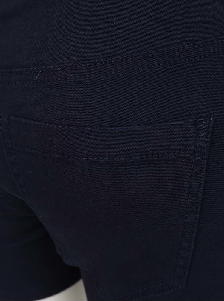 Tmavě modré kraťasy VERO MODA Five