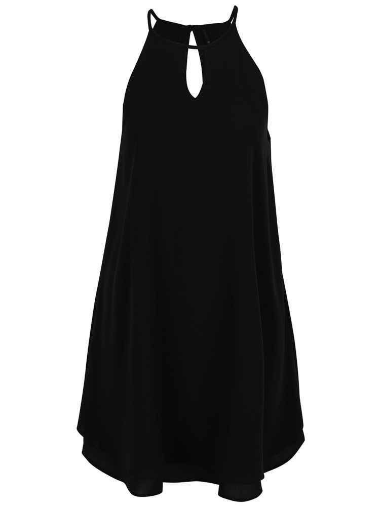 Černé šaty na ramínka ONLY Mariana