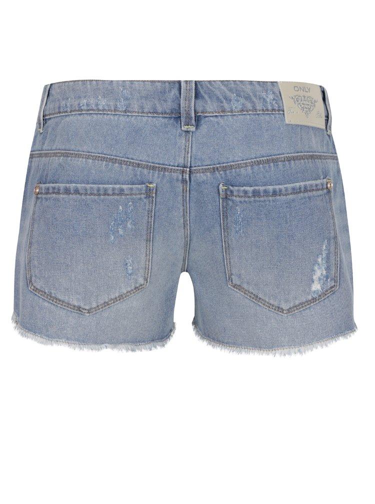 Pantaloni scurți albaștri ONLY Coral din denim