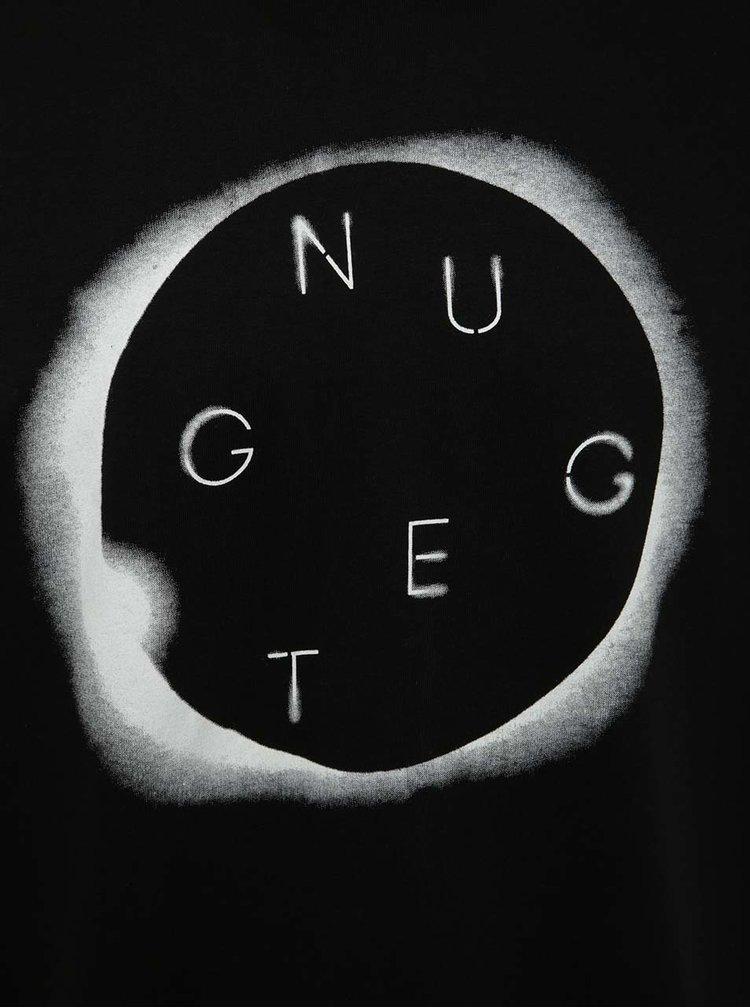 Černé pánské triko s potiskem NUGGET Void