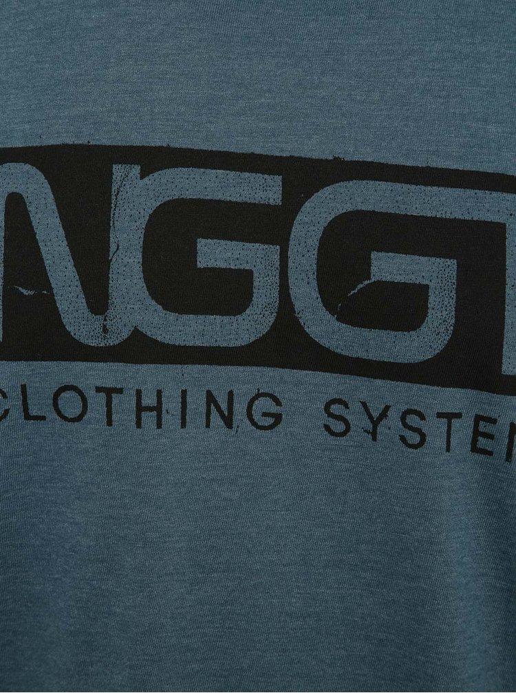Modré pánské tričko s potiskem NUGGET Class