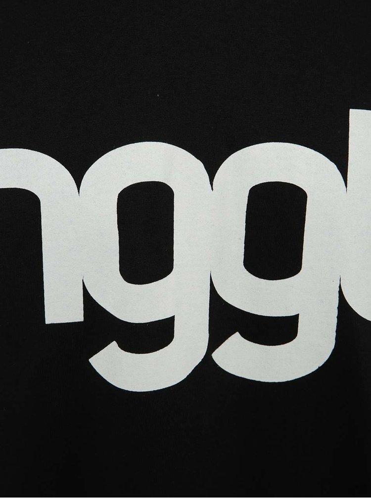 Tricou albastru & negru cu print NUGGET Asset pentru bărbați