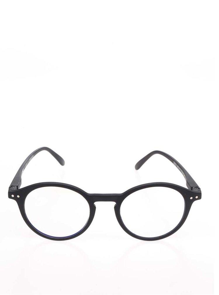 Černé pánské ochranné brýle k PC IZIPIZI  #D
