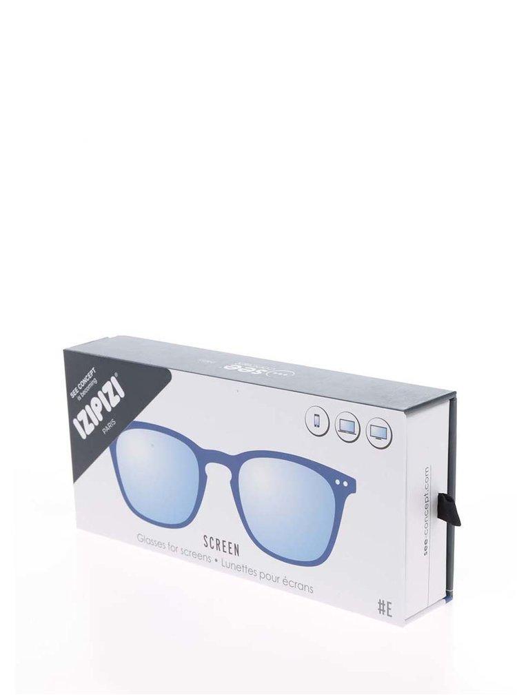 Modré unisex ochranné brýle k PC IZIPIZI #E