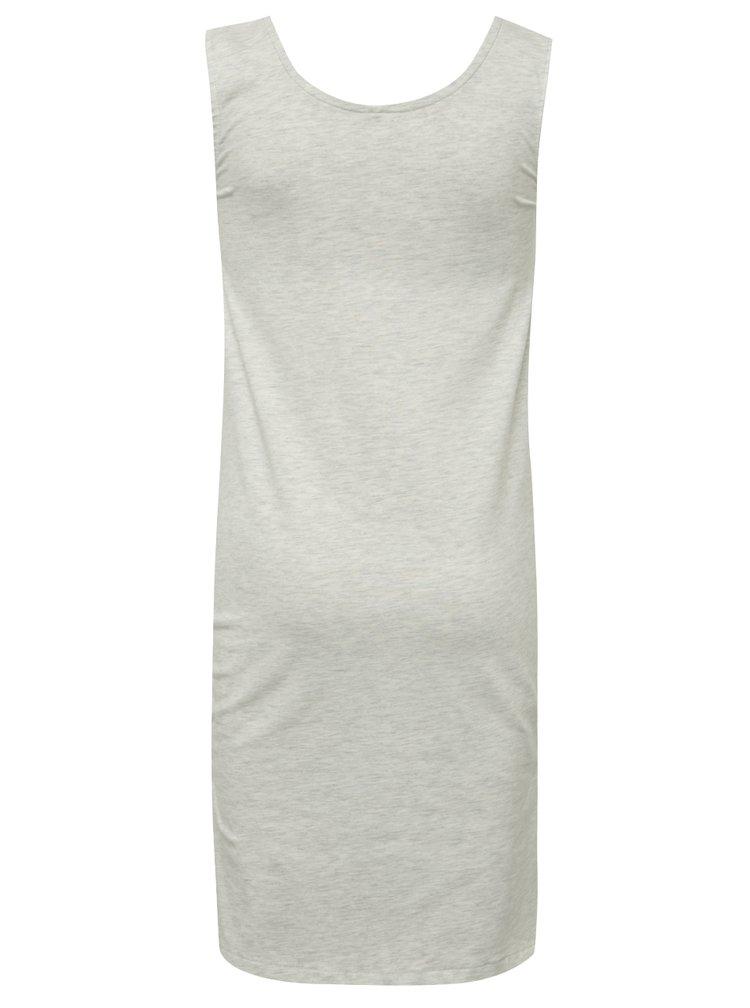 Šedé žíhané holčičí šaty LIMITED by name it Navixa