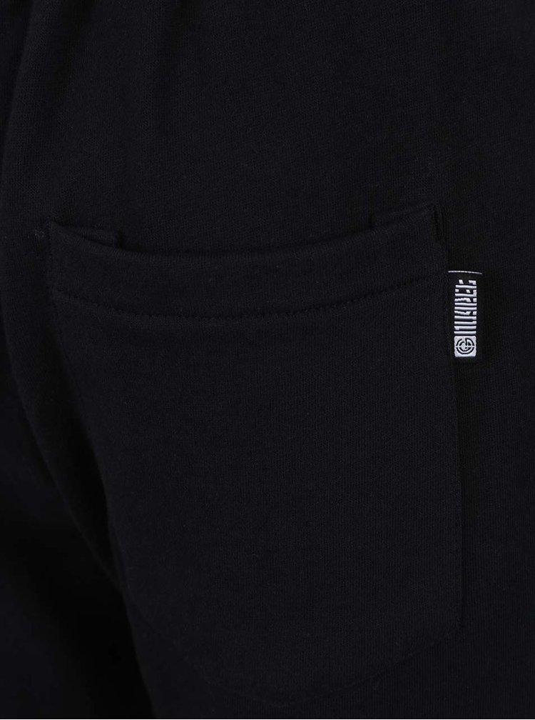 Pantaloni scurți sport negri NUGGET Tool din bumbac