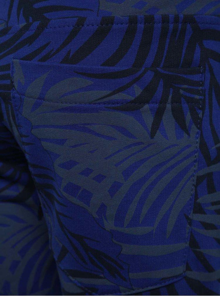 Modré vzorované klučičí kraťasy name it Ikse