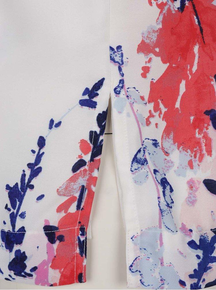 Top alb VERO MODA Kana cu imprimeu floral