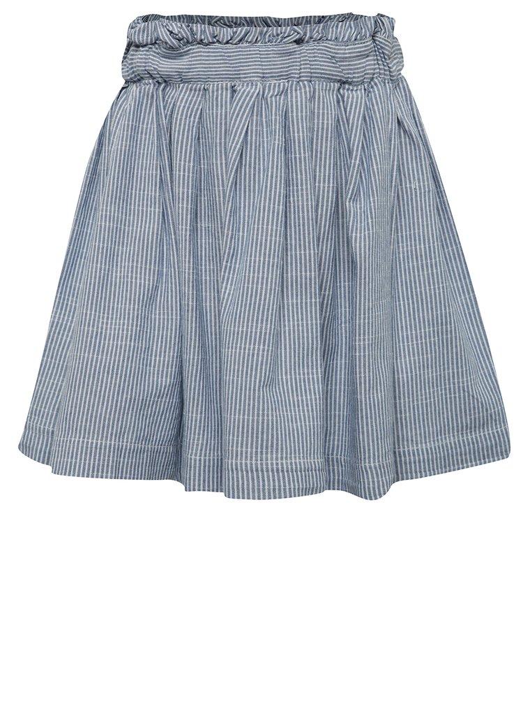 Modrá pruhovaná holčičí sukně name it Ibuba