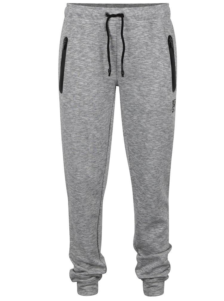 Pantaloni sport gri deschis NUGGET Comfy pentru femei