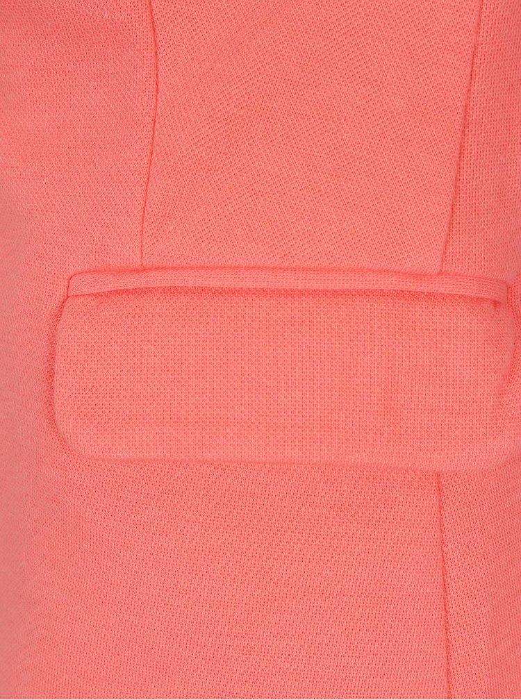 Růžové sako Vero Moda Julia