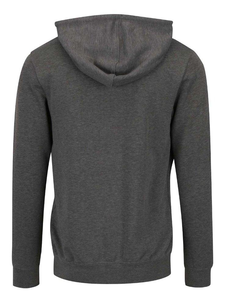 Bluză sport gri Selected Homme Basic cu glugă