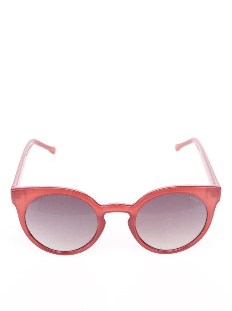 Červené dámské sluneční brýle Komono Lulu