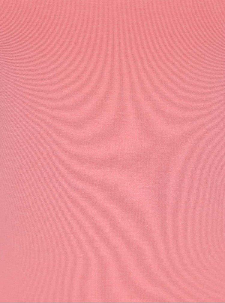 Růžové basic tílko ONLY Live