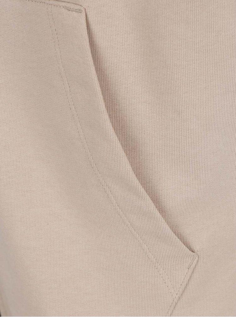 Béžová mikina s krátkými rukávy Jack & Jones Fola