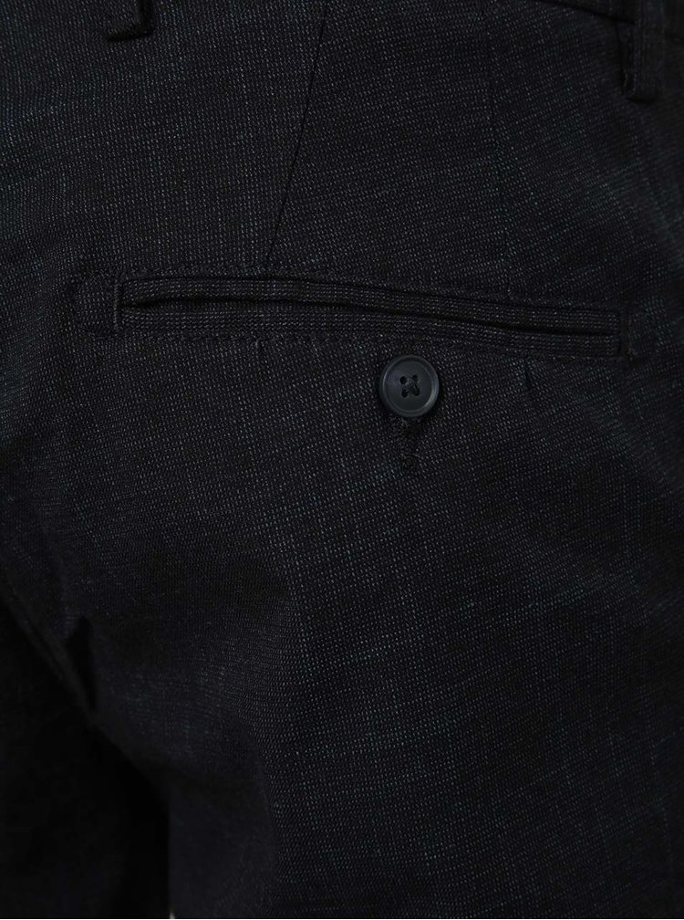 Pantaloni scurti chino negri Selected Homme Dmathi