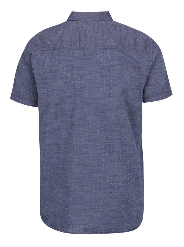 Tmavě modrá vzorovaná košile s krátkými rukávy Jack & Jones Banes