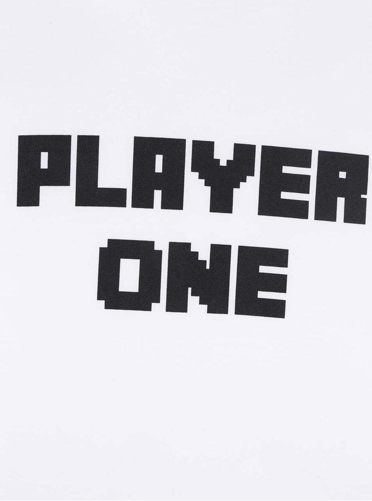 Bílé pánské triko s krátkým rukávem ZOOT Originál Player one