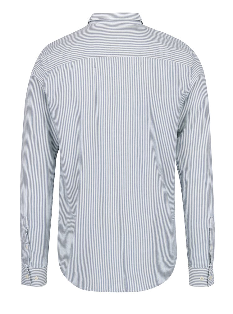 Bílo-modrá pruhovaná košile Jack & Jones Fu