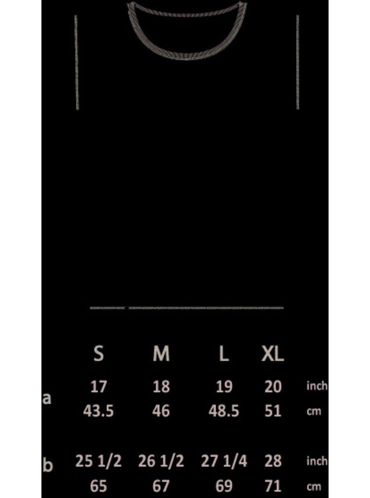 Bluză alb&negru unisex  ZOOT Original Skate till death cu mâneci 3/4