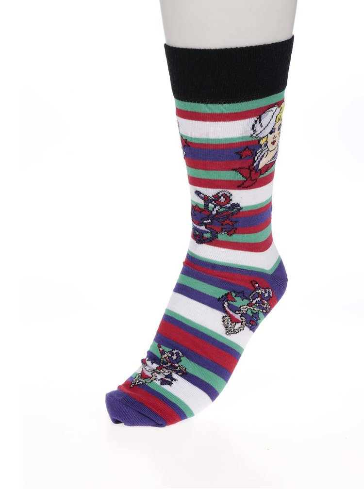 Set de 6 șosete multicolore Oddsocks Tattoe