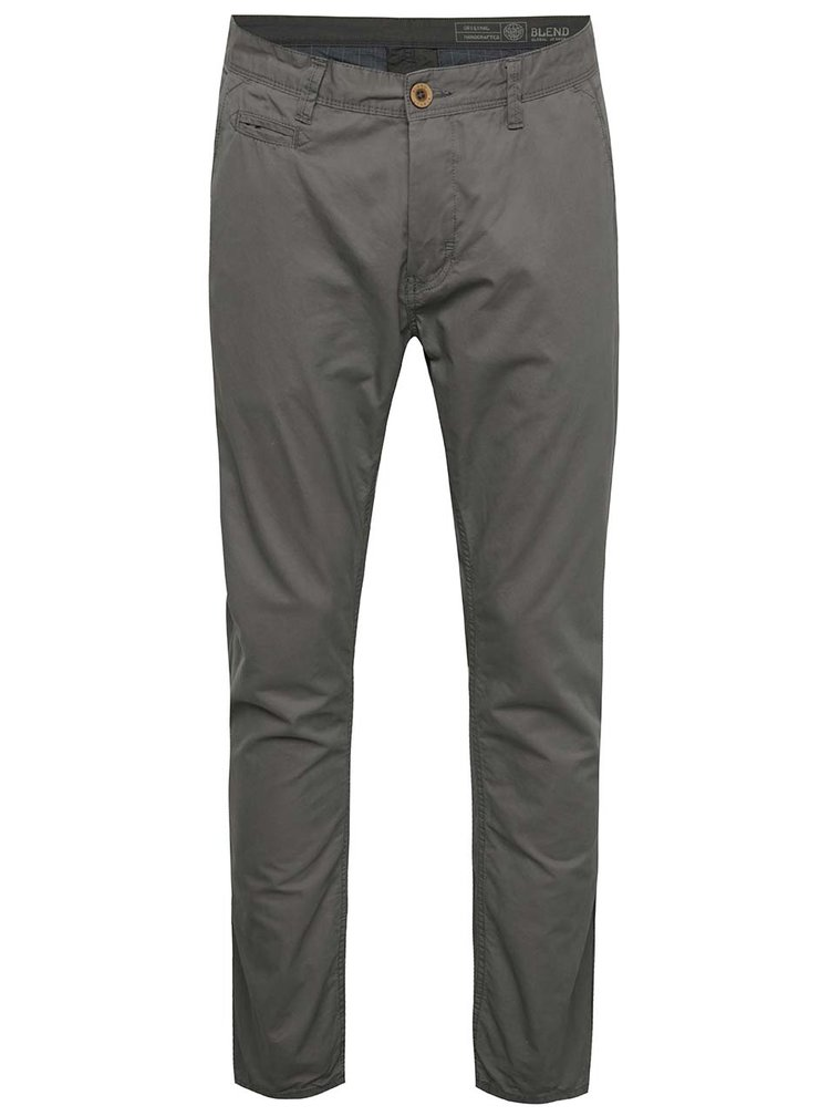 Tmavě šedé chino kalhoty Blend