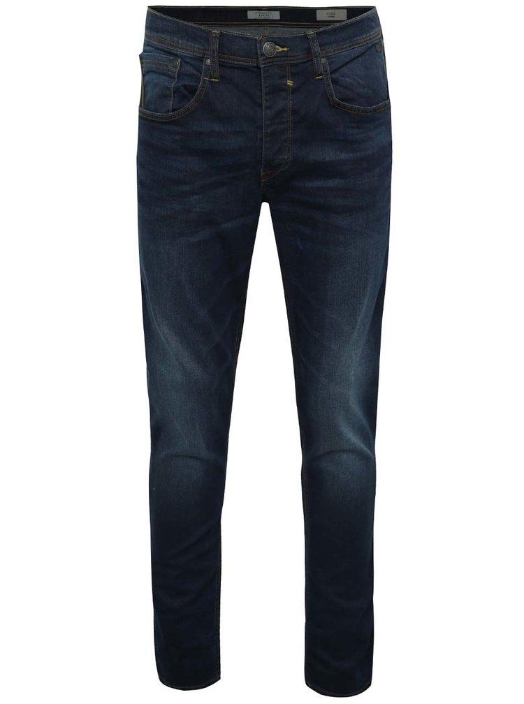 Modré slim fit džíny s vyšisovaným efektem Blend