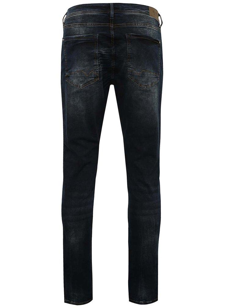 Modro-černé slim fit džíny Blend