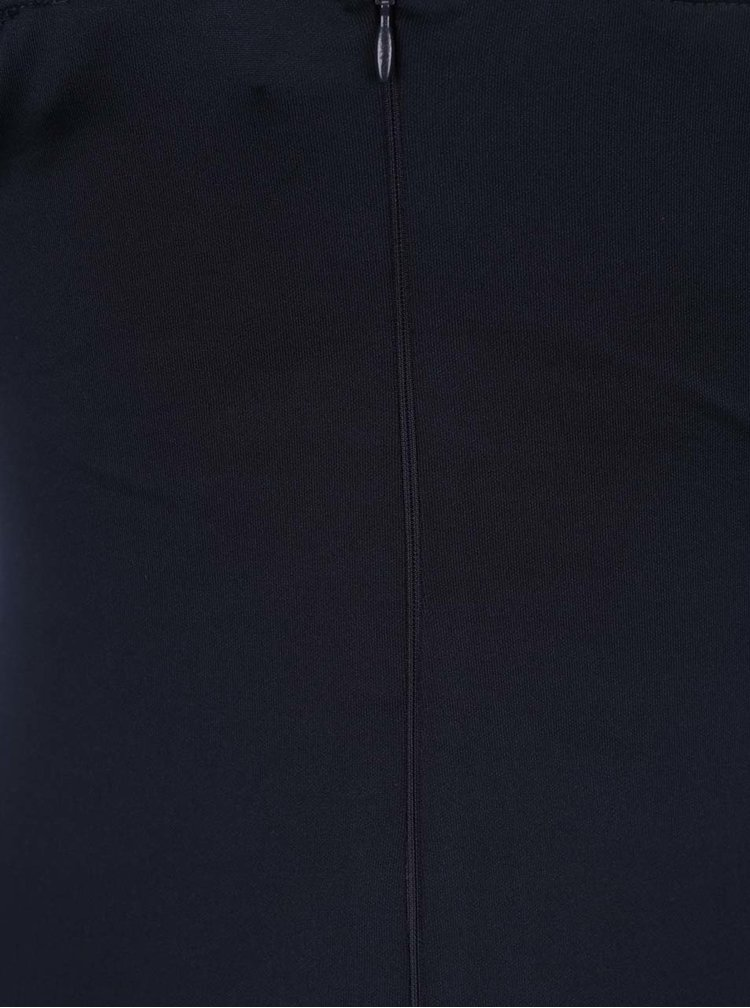 Rochie albastru inchis AX Paris cu decolteu in V