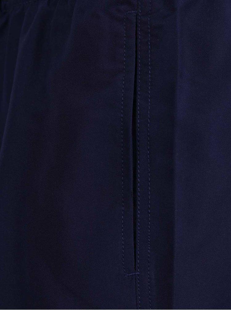 Tmavě modré kraťasy Burton Menswear London