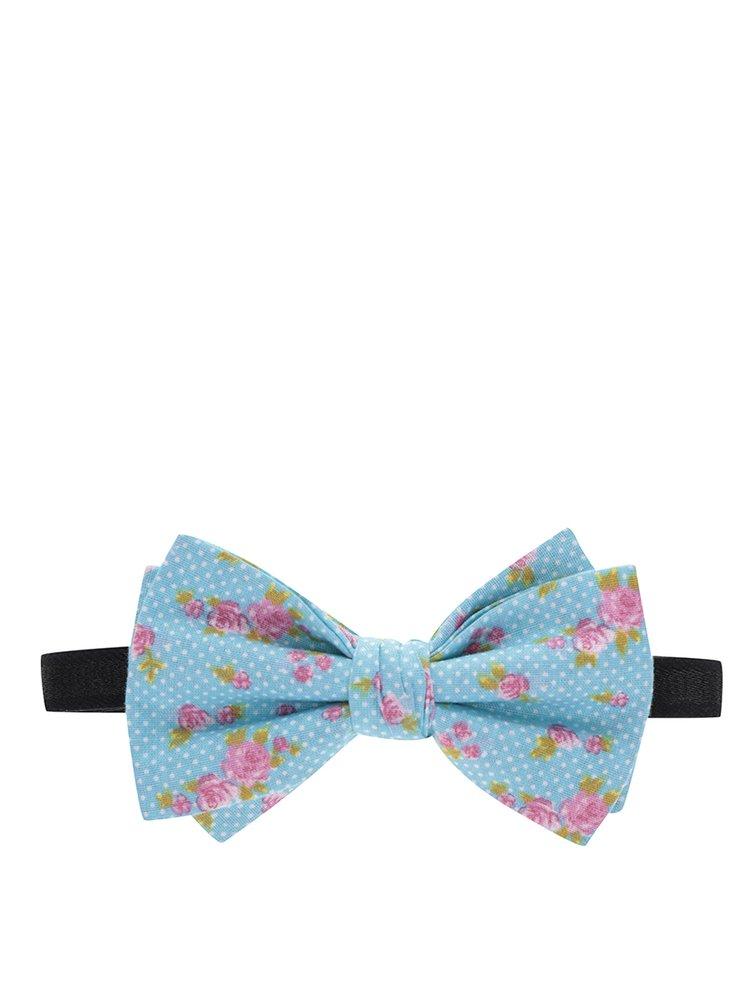 """""""Dobrý"""" set ponožek, motýlka a kšand v modré a růžové barvě pro Krásu pomoci"""